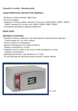 Casseforti a mobile - Standing safes