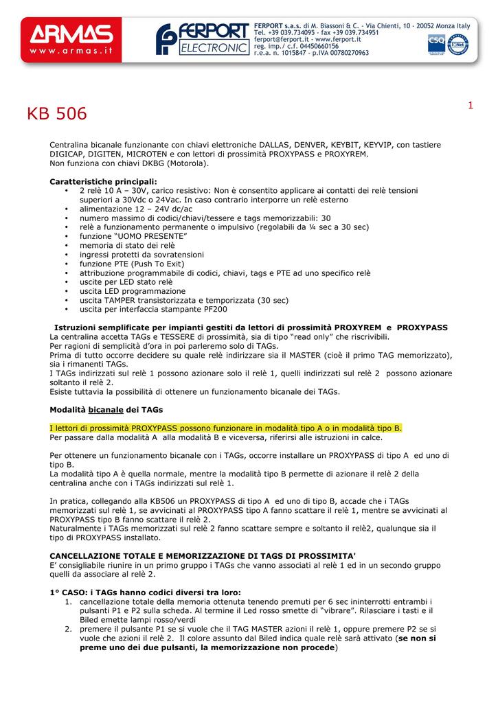 KB506 05 prossimità
