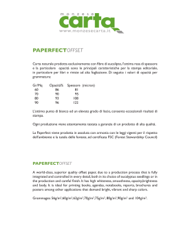 Paperfect - monzese carta