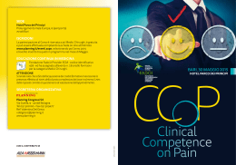Clinical Competence on Pain