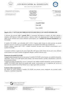 Pdf foceri partners for F24 elide istruzioni