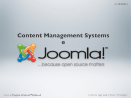 Content Management Systems e