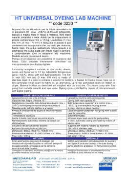 HT UNIVERSAL DYEING LAB MACHINE