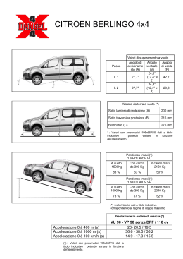 CITROEN BERLINGO 4x4