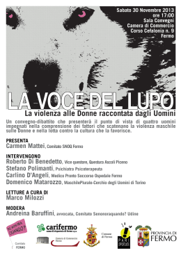 La voce del lupo - On the Road ONLUS