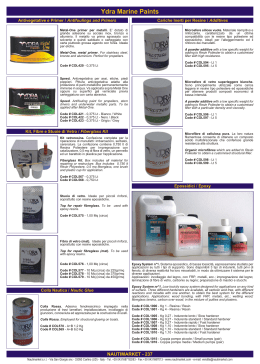 Ydra Marine Paints