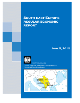 South east Europe regular economic report