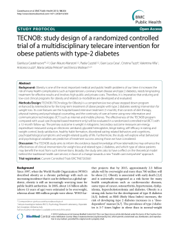 TECNOB: study design of a randomized controlled trial of a