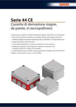 Serie 44 CE - Electrocomponents