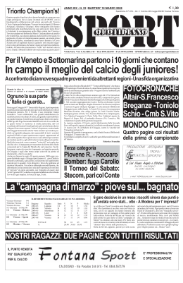 REG22_0 - Sport Quotidiano