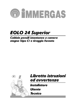 EOLO 24 Superior - Immergas S.p.A.