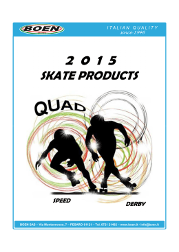 CATALOGO BOIANI QUAD 2015