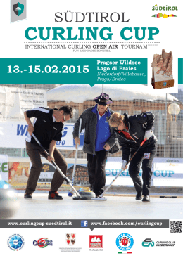 Curling Cup Südtirol 2015_flyer