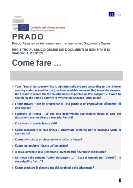 PRADO FAQ 1 - Council of the European Union