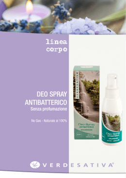 DEO SPRAY ANTIBATTERICO