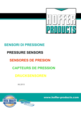 Catalogue Hoffer Products