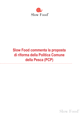 Italiano - Slow Food