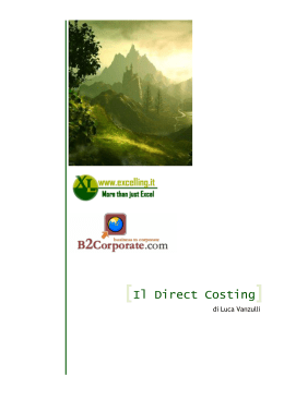Il Direct Costing evoluto