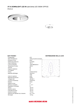 XT-A DOWNLIGHT LED IN satin/white LED 3500K