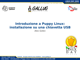 Tutorial Puppy Linux in italiano