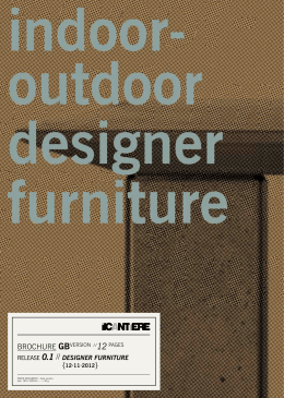 GB_brochure Design Forniture