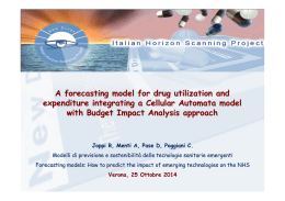A forecasting model for drug utilization and expenditure