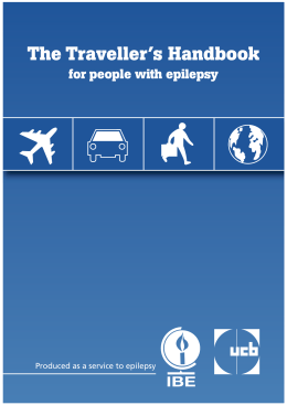 The Traveller`s Handbook for people with epilepsy