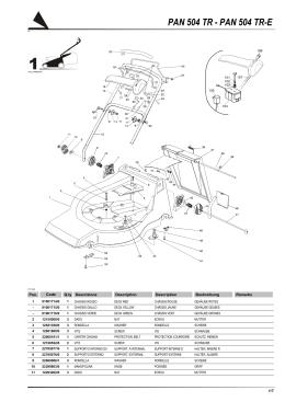 81,5 CM Fahrantrieb Keilriemen Rasenmäher Castel Garden F PA PAN 502 504 TR TR-E