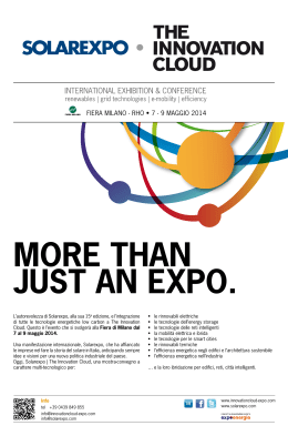 More than just an expo.