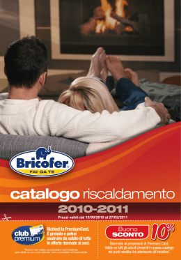 BRICOFER Catalogo riscaldamento 2010-2011