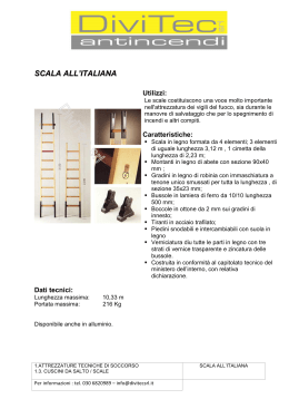 SCALA ALL`ITALIANA