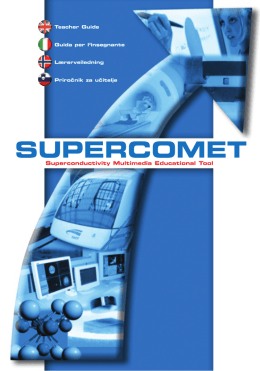 teacher guide - online.supercomet.no