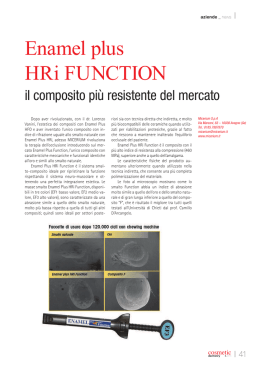 Enamel plus HRi FUNCTION - Dental Tribune International