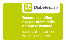 Certificato medico - mylife Diabetescare