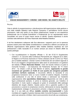 Documento presidenti Nazionali SID AMD