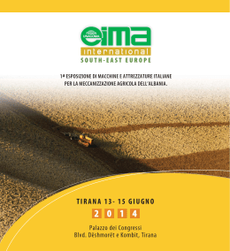 EIMA SOUTH EAST EUROPE
