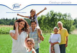 Catalogo generale Just Italiano v3
