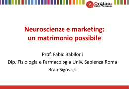 Neuroscienze e marketing: un matrimonio possibile