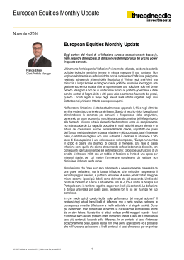European Equities Monthly Update