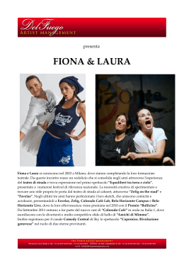 FIONA & LAURA - Del Fuego Management
