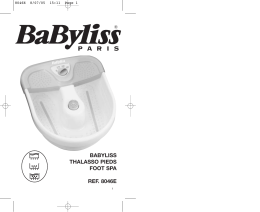 BABYLISS THALASSO PIEDS FOOT SPA REF. 8046E