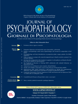 PDF - Journal of Psychopathology