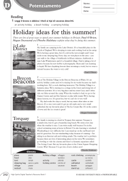 Holiday ideas for this summer! Beacons
