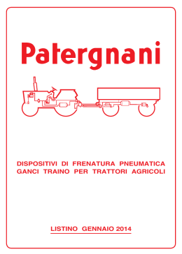 PATERGNANI - listino 2014..indd