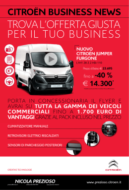 PDF - Volantino Citroen Business