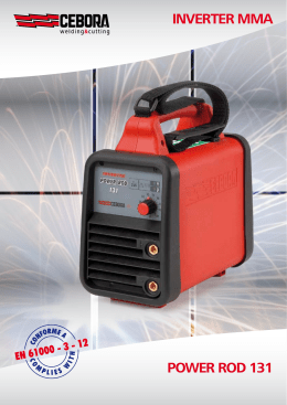 power rod 131 INVerTer mma