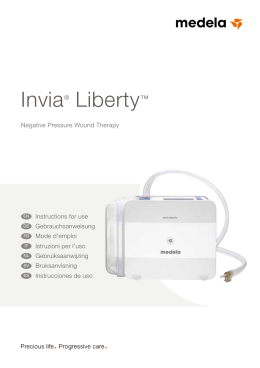 Invia® Liberty™ - Aeroflow Wound Care