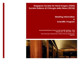 Singapore Society for Hand Surgery (SSHS)