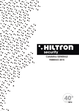 security - HiLTRON Srl