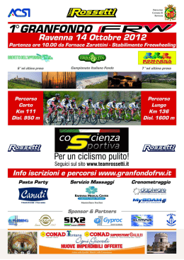 Brochure GF FRW - Team Rossetti Bike